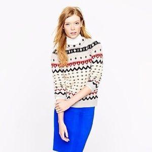 J. Crew fair isle ski sweater, L (fit is snug)